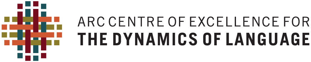 ARC Center of Excellence for the Dynamics of Languages logo